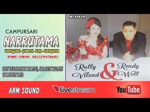 LIVE CS. NARRUTAMA//ARM SOUND//LIVE TEGALSARI SRAGEN KULON