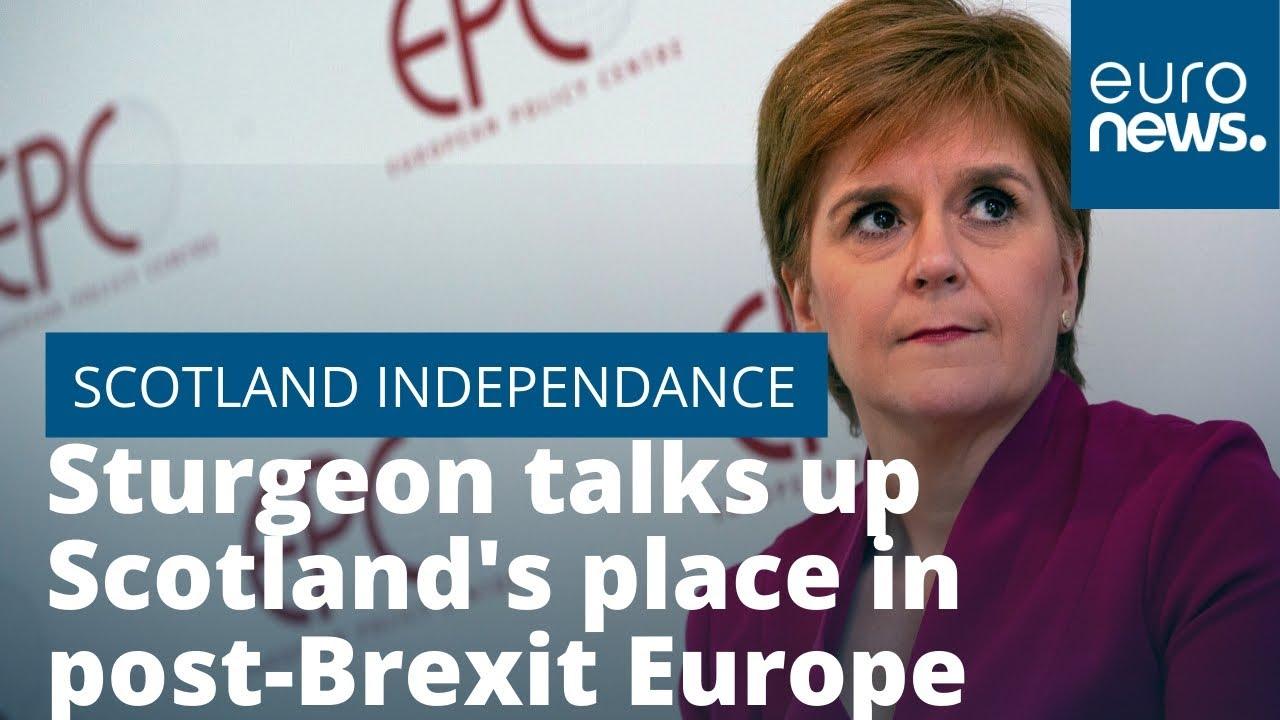 Sturgeon talks up Scotland's place in post-Brexit Europe