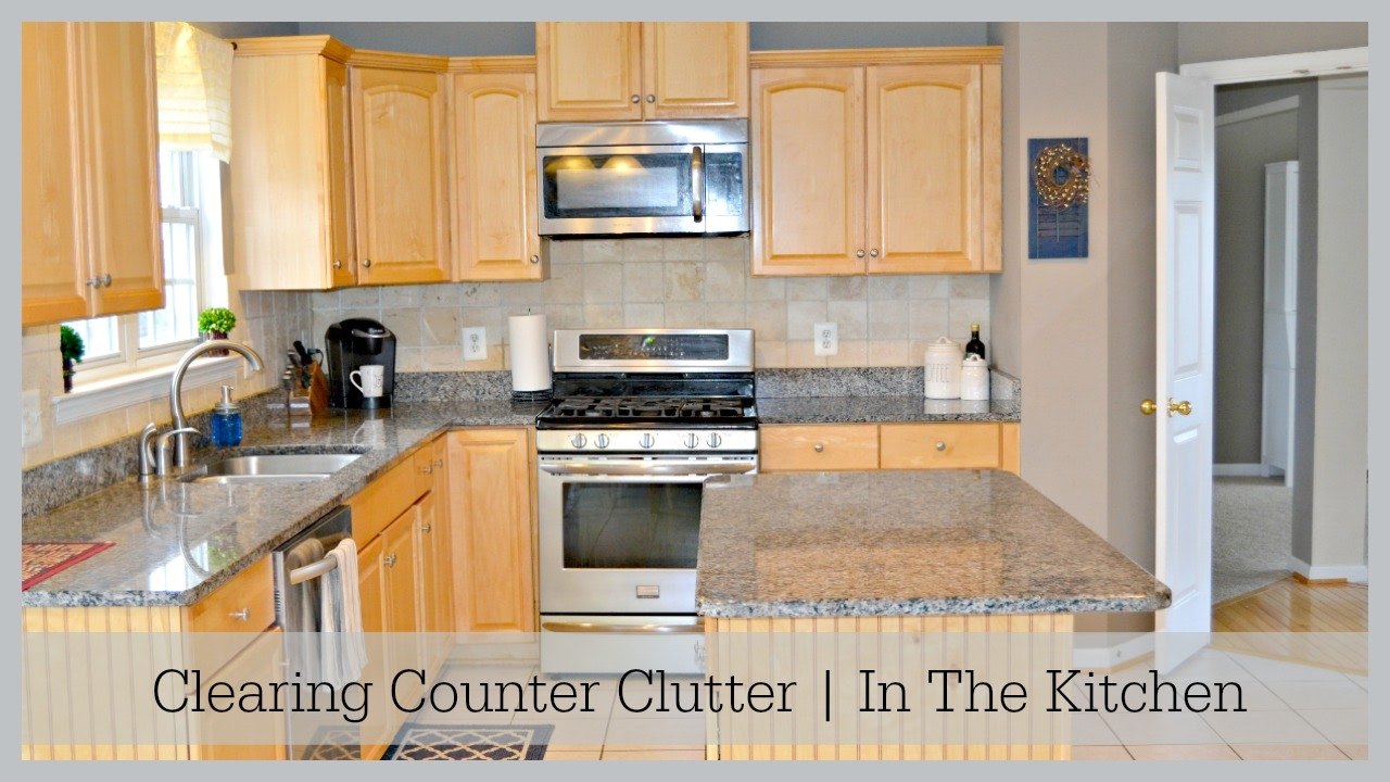 How To Organize Kitchen Counter
