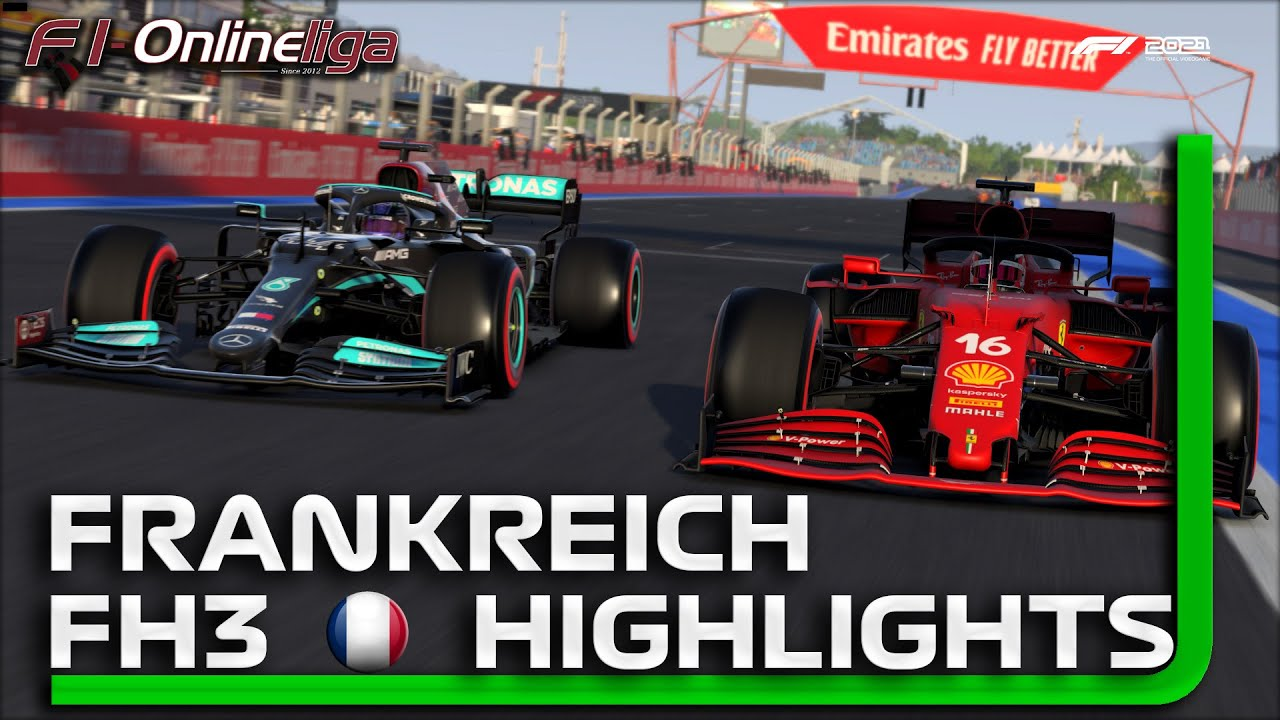 Download F1 2021 S7 XB 🎮 FH3 Frankreich GP [Highlights] 🏎 F1-Onlineliga