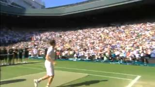 Andy Murray Winning Moment Wimbledon 2013