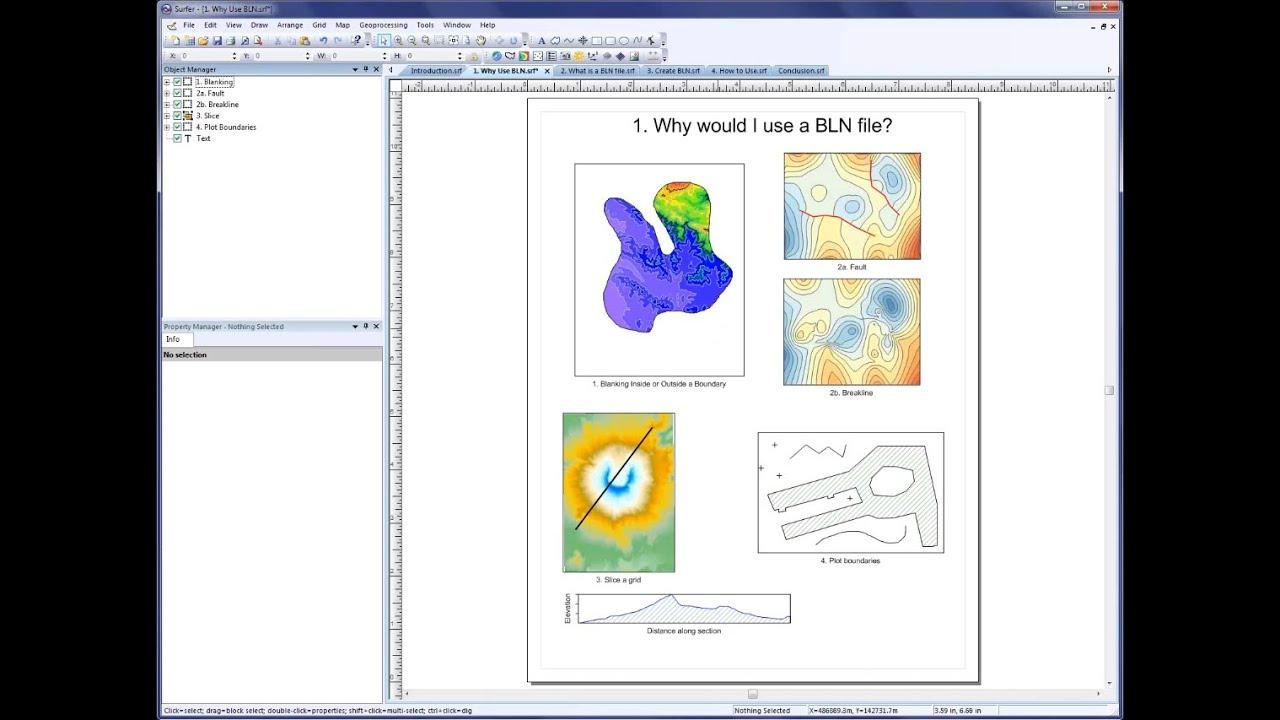 Surfer 6 software