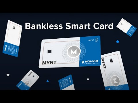 Paymynt Introduces Blockchain Smart Cards