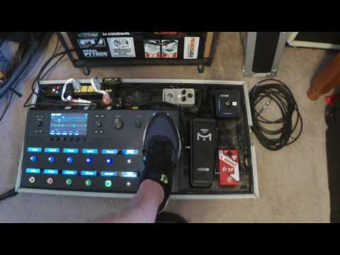 My Helix set up and sounds - Mimiq pedal