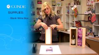 Adding Images To Wood Wine Boxes With Dye Sublimation -