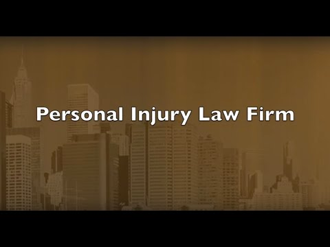 New York City Personal Injury Law Firm