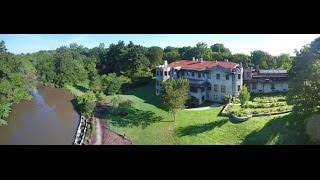 Some aerial views of the Henry Ford Estate and Rouge River