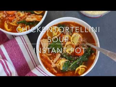 Chicken Tortellini Soup - Instant Pot