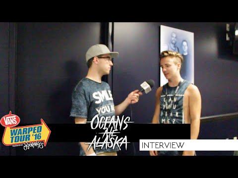 Oceans Ate Alaska Interview | Warped Tour 2016 | Brad LaPlante