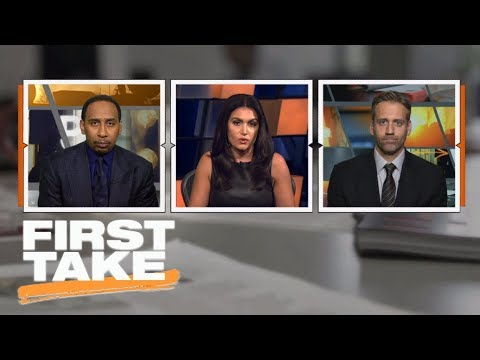 First Take reacts to Cam Newton