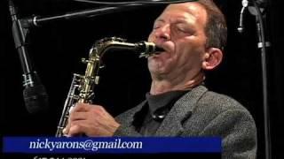 Nick Arons Sax MVTV 2009