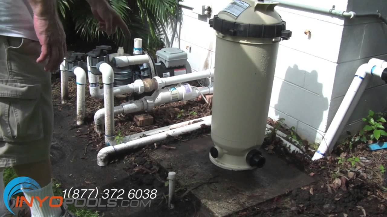 How To Replace A Pool System De Filter With Cartridge Swimming Diagram Youtube