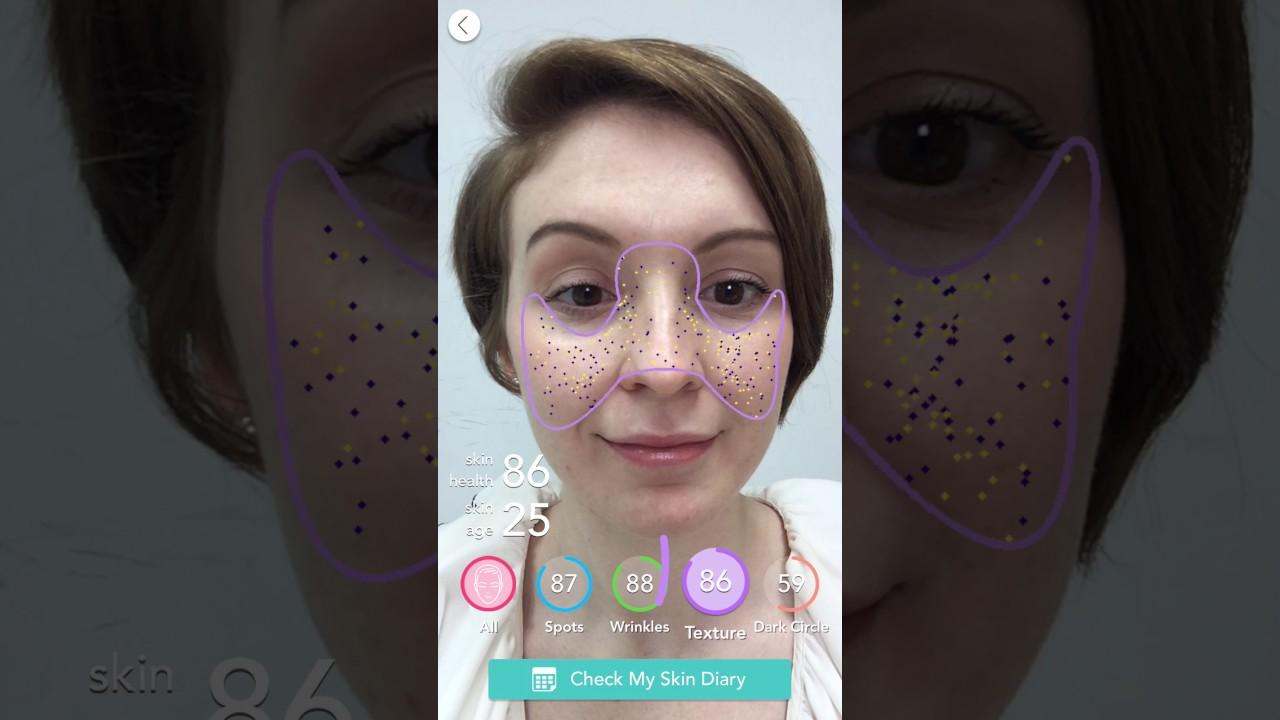 [YouCam Makeup] Skin Diagnostic Tool Tutorial