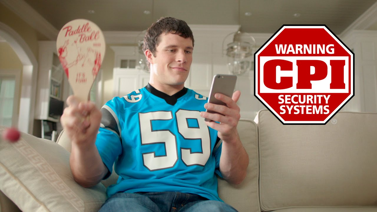 What if luke kuechly was your personal assistant cpi for Cpi security intouch