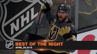 Vegas' big 1st, Crosby's clutch marker steal the night