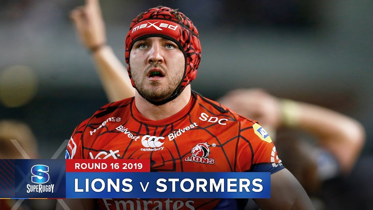 Lions v Stormers | Super Rugby 2019 Rd 16 Highlights