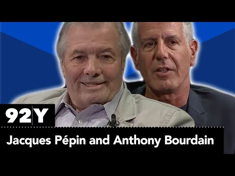 Jacques Pépin and Anthony Bourdain: Home and Away (Full Event)