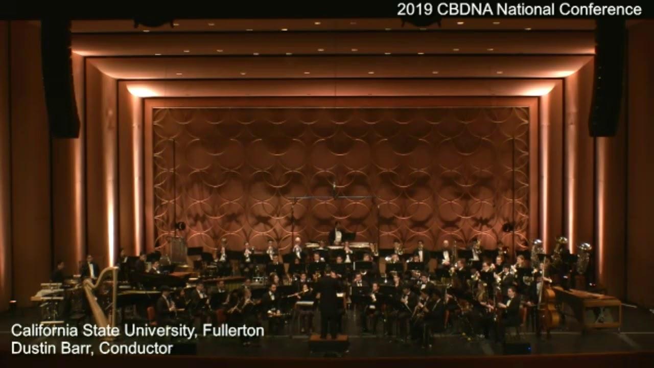 Cal State Fullerton final 2019 CBDNA