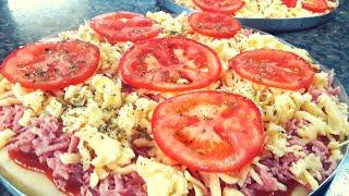 Como Fazer Pizza de Liquidificador – Receita Super Fácil
