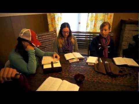 Bible Study: Zacchaeus - Argentina 2012 Day 5 [August 7]
