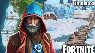 *NEW* SNOWY CASTLE IN FORTNITE + NEW CASTOR SKIN! (Fortnite Battle Royale Live)