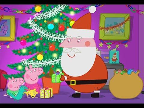 Свинка Пеппа - Новый год! Наряжает елку и лепит снеговика ...
