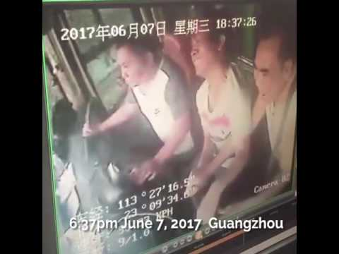 Dongguan coach crash video goes viral on social media