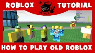 'OUTDATED' COMMENT À PLAY OLD ROBLOX AGAIN Tutoriel ROBLOX