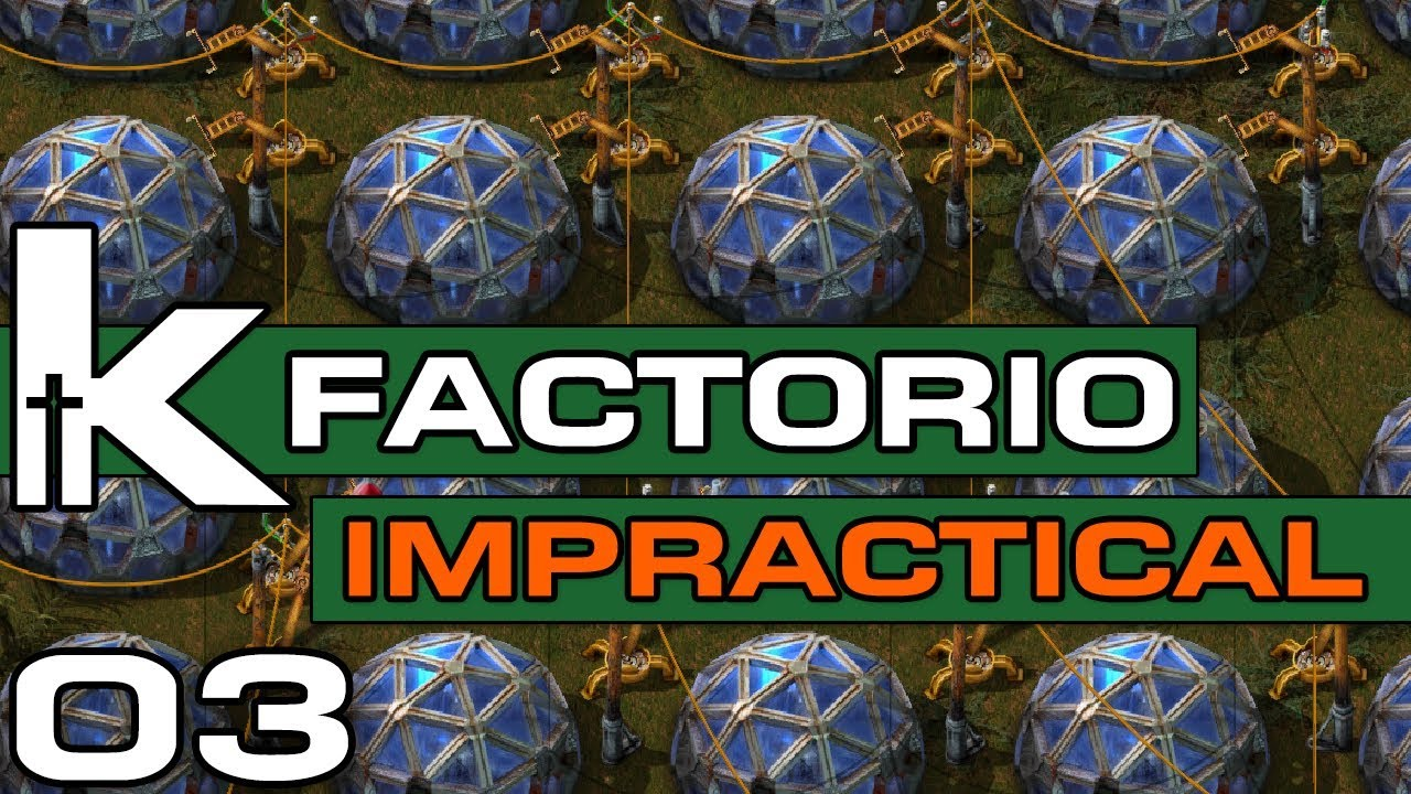 Factorio 0 17 | Impractical Ep 03 | Smelting Steel and Stone