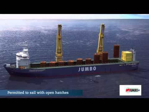 Introducing Jumbo's  K-3000 vessels