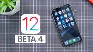 iOS 12 Beta 4 có gì mới?