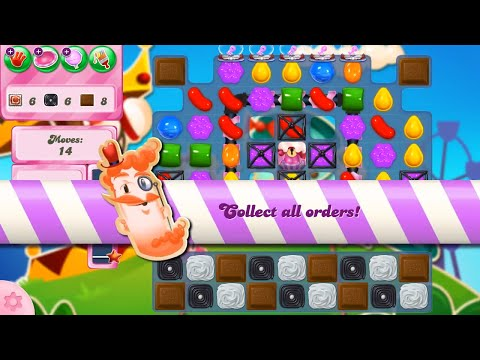 Candy Crush Saga Level 2672 NO BOOSTERS