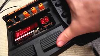 Zoom Bfx708 Guitar Multi Effects Pedal Demo And Tutorial