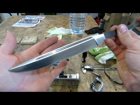 Нож ЖАЛО II – изготовление, часть первая : изготовление клинка