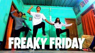 FREAKY FRIDAY DANCE CHOREOGRAPHY