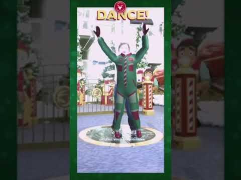 Denver cherry creek mall Santa's flight academy fake suit