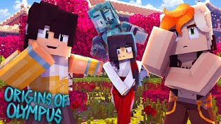 "Origins of Olympus #44 - ""GIRL PROBLEMS?"" (Percy Jackson Minecraft Roleplay)"