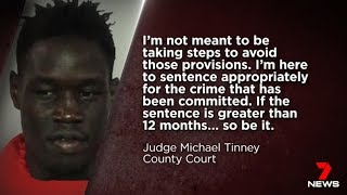 Lawyers Beg To Keep African Home Invader.(Majok Aneet)  Seven + Nine News