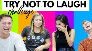 TRY NOT TO LAUGH CHALLENGE WITH CHADWILDCLAY AND VYQWAINT | Shawn Johnson
