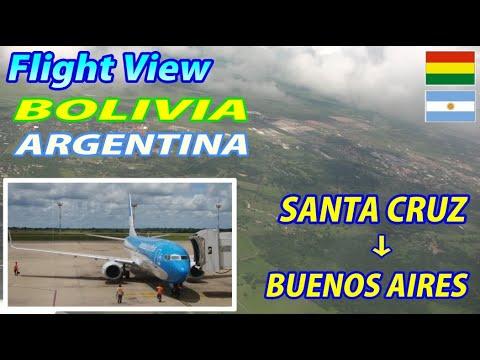 ARG SANTA CRUZ DE LA SIERRA, Bolivia → BUENOS AIRES, Argentina