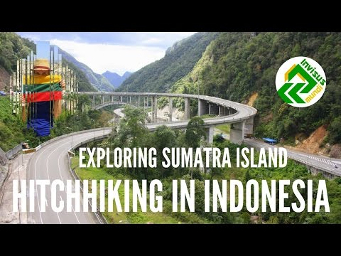 Hitchhiking in Indonesia. Traveling to West Sumatra: Pekanbaru, Bukittingi, Padang