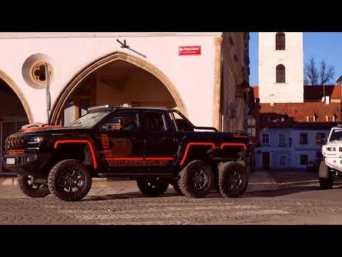 Bureko 6x6 Is The 6-Wheeled Pickup You've Never Heard Of