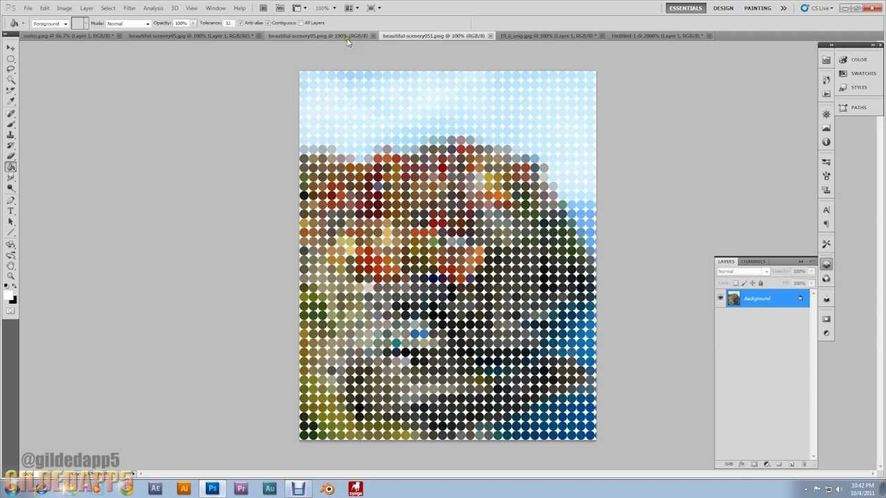 Pixelate how to photoshop in