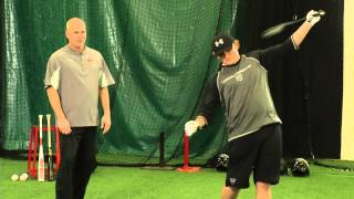 ripken baseball hitting tip one arm drill