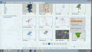 Asset Management Using ArcGIS Online for Small Communities