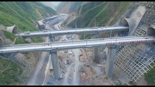 Railway Tunnel with China's Biggest Cross Section Completed in NW China thumbnail