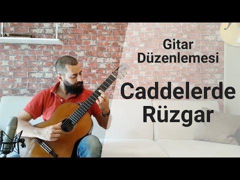 Caddelerde Ruu0308zgar Gitar Solo | Tab Gitar Şarkılar Nasıl Çalınır