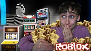 ENTER THE CASINO AND TAKE IT ALL! (Roblox Mad City)