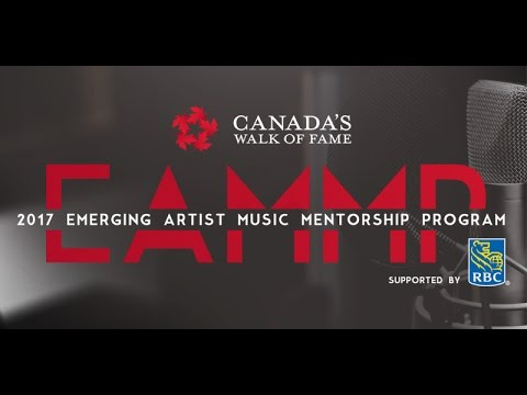 2017 Emerging Artist Music Mentorship Program, Supported by RBC