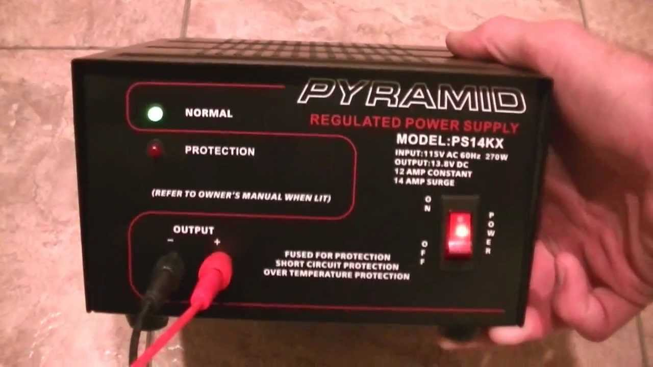 1a 15 Volt To 35 Dc Regulated Power Supply Circuit Diagram Pyramid Ps14kx 12 Amp 138v 270 Watt 115v Ac And Xtva News Youtube
